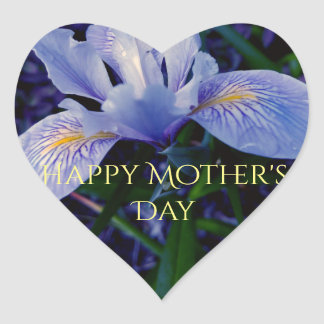 Beautiful Iris Mothers day sticker