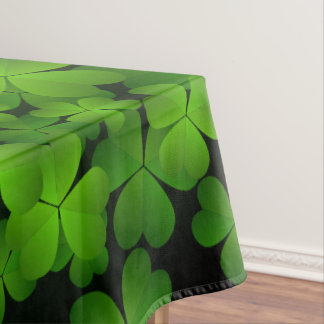 Beautiful Irish Shamrocks Tablecloth