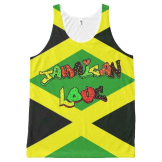 Beautiful Jamaican colors All-Over-Print Tank Top