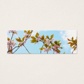 Beautiful Japanese cherry blossom Mini Business Card