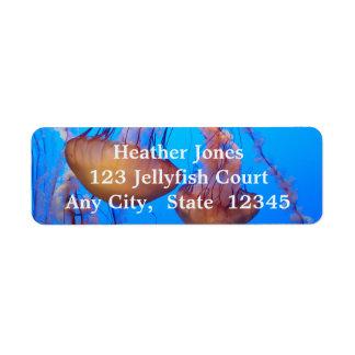 Beautiful Jellyfish Labels