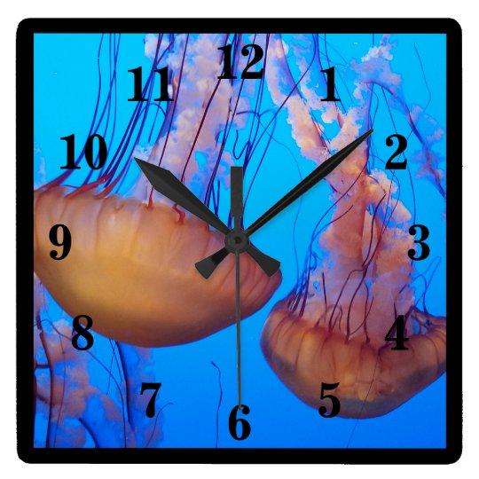 Beautiful Jellyfish Wall Clock