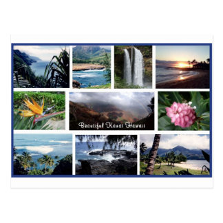 Beautiful Kauai Photos Postcard