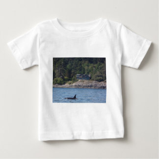 Beautiful Killer Whale Orca in Washington State Baby T-Shirt