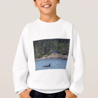 Beautiful Killer Whale Orca in Washington State Sweatshirt