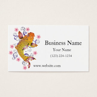 Beautiful Koi Business Card
