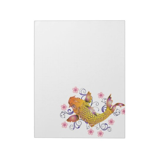 Beautiful Koi Notepad