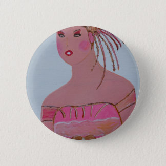 Beautiful Lady 3.JPG 2 Inch Round Button