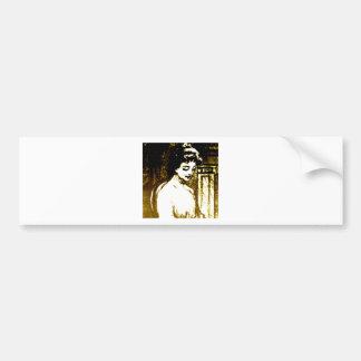 Beautiful Lady Bumper Sticker