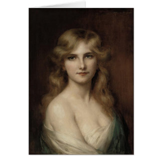 beautiful lady by albert lynch,belle époque,victor card