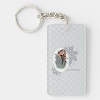 Beautiful Lady Double-Sided Rectangular Acrylic Keychain