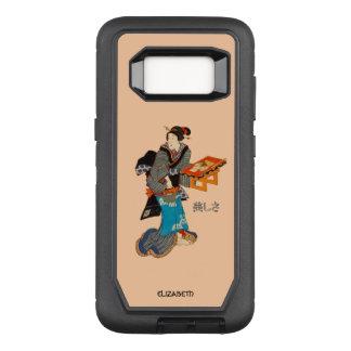 Beautiful Lady Japanese Print 1 Utagawa Kunisada OtterBox Defender Samsung Galaxy S8 Case