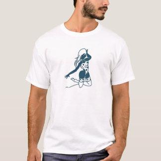 Beautiful lady portrait design T-Shirt