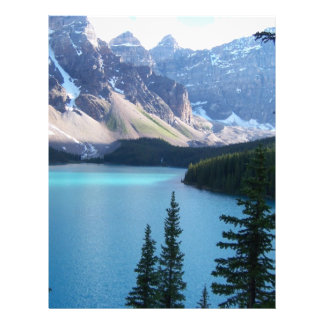 Beautiful Lake Letterhead Template