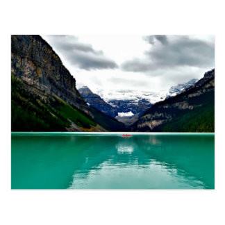 Beautiful Lake Louise Canada Postcard