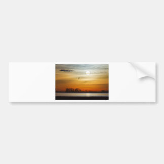 Beautiful Lake Morning Bumper Sticker