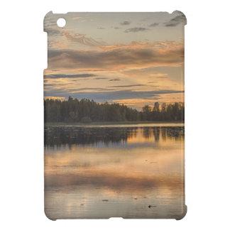 Beautiful lake sunset case for the iPad mini