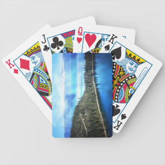 BEAUTIFUL LAKE TAHOE BICYCLE PLAYING CARDS
