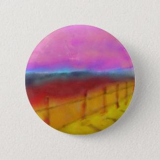 Beautiful Land Art 2 Inch Round Button