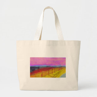 Beautiful Land Art Large Tote Bag