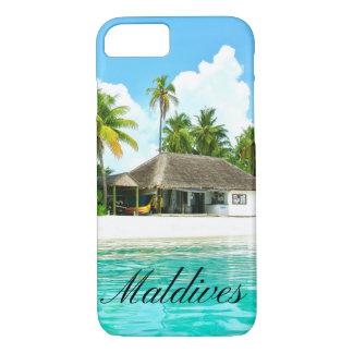 Beautiful Landscape Of Maldives iPhone 7 Case