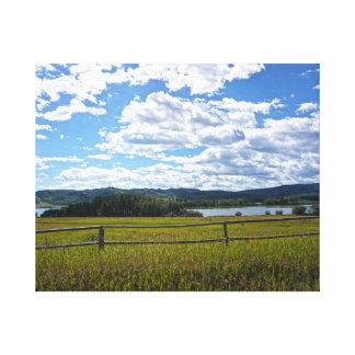 Beautiful Landscape Photo on Canvas
