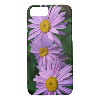 Beautiful Lavender Colored Painted Daisies iPhone 8/7 Case