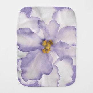 Beautiful Lavender Orchid Burp Cloth