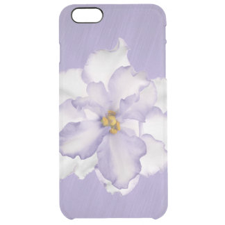 Beautiful Lavender Orchid Clear iPhone 6 Plus Case