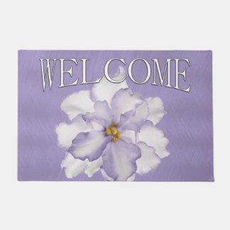 Beautiful Lavender Orchid Doormat