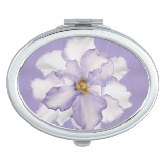 Beautiful Lavender Orchid Makeup Mirror