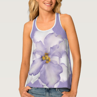 Beautiful Lavender Orchid Tank Top