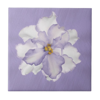 Beautiful Lavender Orchid Tile