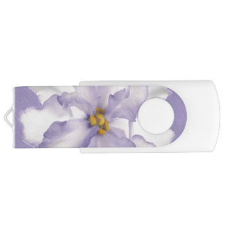 Beautiful Lavender Orchid USB Flash Drive