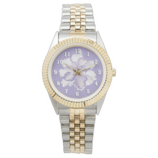 Beautiful Lavender Orchid Watch