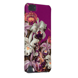 Beautiful Lavender Vintage Flowers iPod Touch (5th Generation) Case