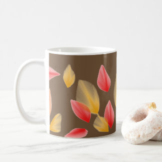 beautiful leaves mug