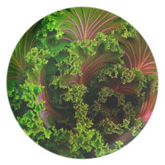 Beautiful lettuce-Plate Plate