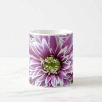 Beautiful Lilac and White Flower Coffee Mug