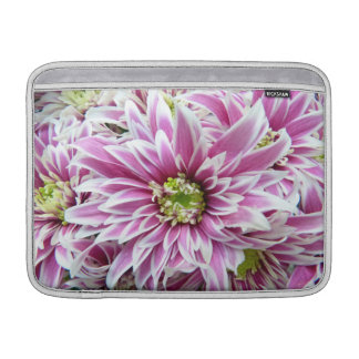 Beautiful Lilac and White Flower Sleeve For MacBook Air