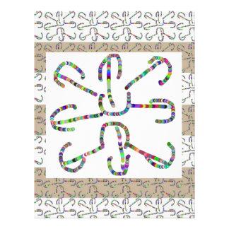 Beautiful LINE ART CCC : View LARGE to appreciate Custom Letterhead