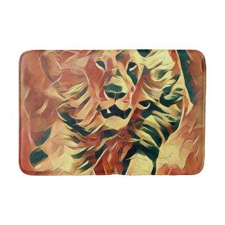 Beautiful Lion Art Medium Bath Mat