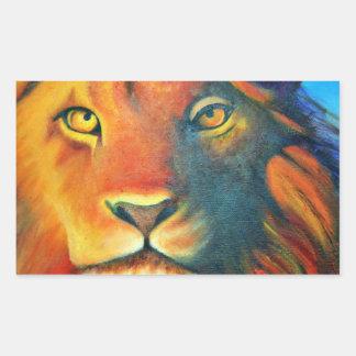 Beautiful Lion Head Portrait Regal and Proud