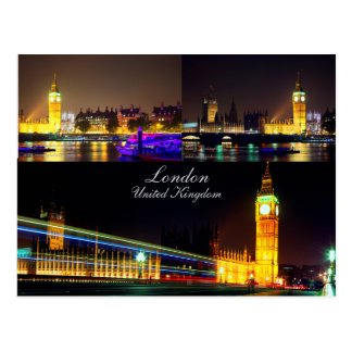 Beautiful London Postcard
