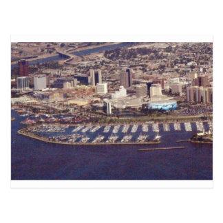Beautiful Long Beach Postcard