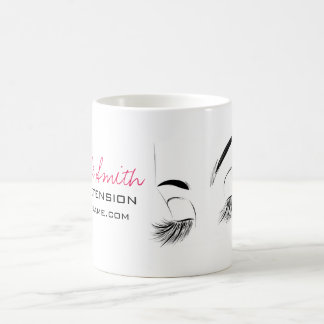 Beautiful long eyelashes Lash Extension Coffee Mug