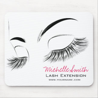 Beautiful long eyelashes Lash Extension Mouse Pad