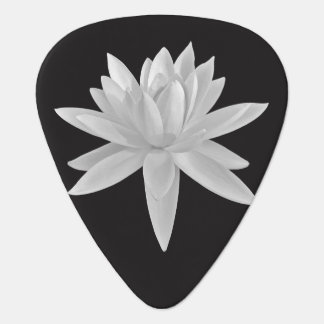 Beautiful Lotus Flower Cool Chic Guitar Pick