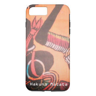 Beautiful Lovely Kenya Maasai Hakuna Matata iPhone 7 Plus Case