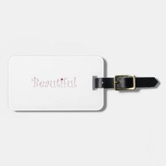Beautiful Luggage Tag